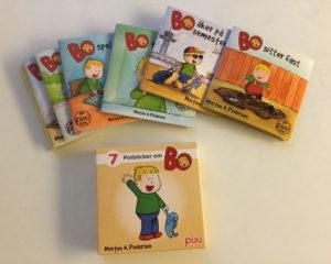 Pixibox: Bo med bøker over