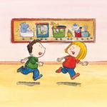 Mons og Mona løper