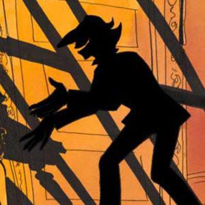 H.C. Andersens skæve skygge, skyggen snakker med djevelen